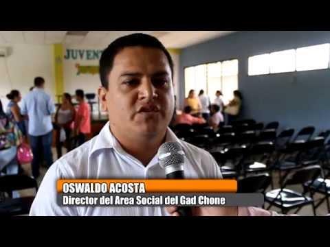 Dirección Social del GADM Chone asume programas y convenios del Patronato