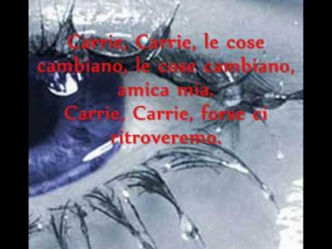 Europe-Carrie-traduzione