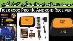 Tiger30000pro #4k Cheap Prize 4k Tiger 3000 pro Receiver