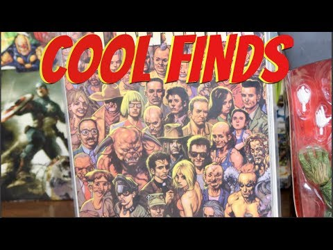 Cool Finds #20 - Huge Comic Book Haul!!!!