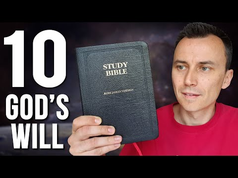 10 FACTS About GOD'S WILL For Your Life (from The Bible)