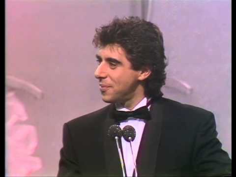 Go West win British Newcomer presented by Gary Davies | BRIT Awards 1986