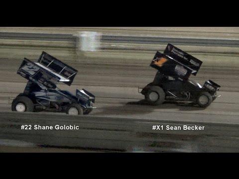 Civil War Series 360 Sprints MAIN 4-11-15 Calistoga Speedway