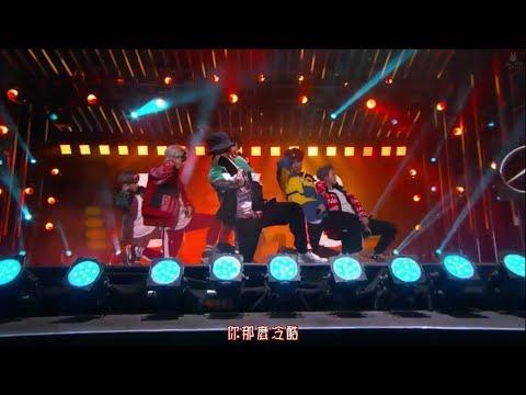 【Live中字】171130 防彈少年團(BTS) - I NEED U @Jimmy Kimmel Live