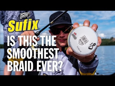 The Ultimate Finesse Fishing Line - Sufix® X8