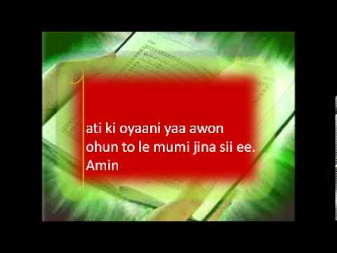 Download RABBI LAA TAKILINY ILA AHAD, AN IMPORTANT DAILY DUA IN ARABIC, ENGLISH AND YORUBA.