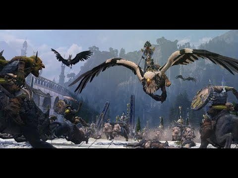 Total War Warhammer II The Warden vs Grom the Paunch |