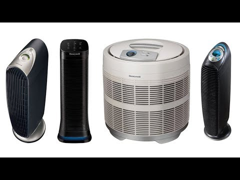 Honeywell Air Purifiers Comparison Video (HFD-120-Q, HFD310, 50250, HPA249)