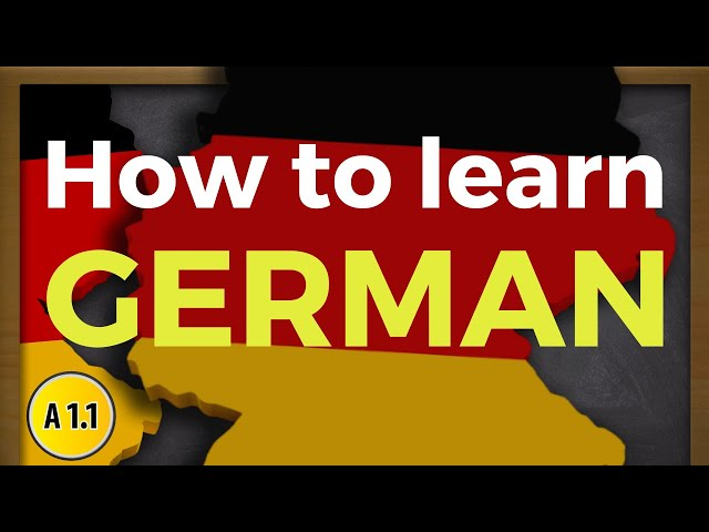 How to Learn German EFFICIENTLY and with SUCCESS