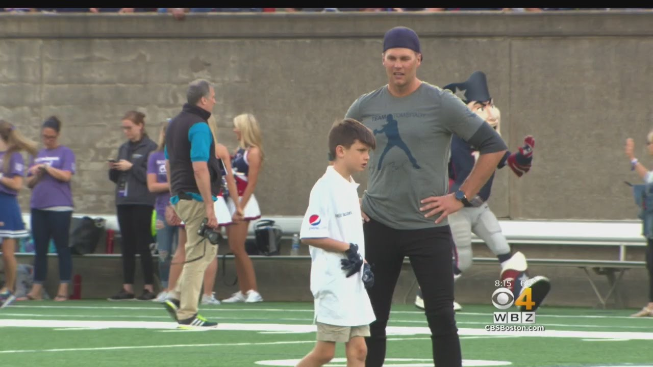 Tom Brady Tosses Touchdowns At 18th Annual Best Buddies