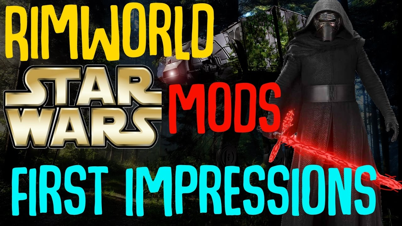 Rimworld Star Wars Conversion Mod: First Impressions