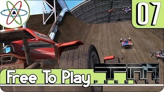 Game Free to Play #7 - Trackmania Nations Forever - GamePlay PT BR