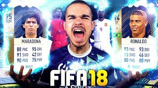 Fifa 18 : 3 icons in 1 pack opening !!