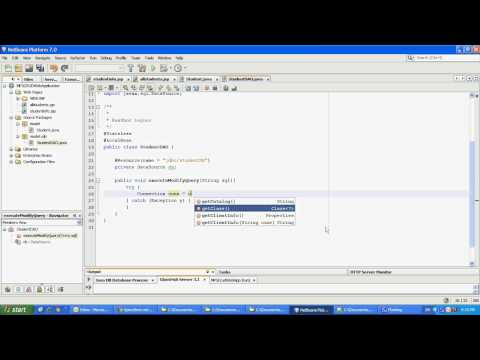 Add, Edit, Delete, Search  - Java EE WebApp