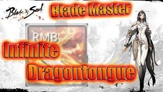 Blade and Soul- Blademaster Infinite Dragontongue Combos
