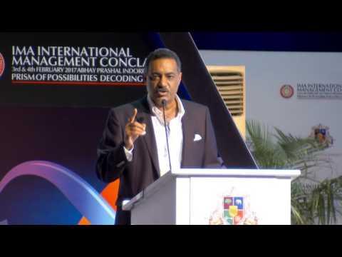Mr. Maroof Raza - 26th IMA International Management Conclave 2017.