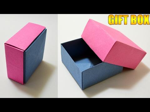 Make An Origami Square Box #1 (Base) (Tomoko Fuse) - YouTube | 360x480
