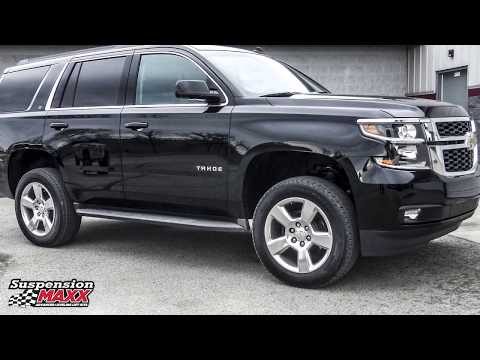 Rear Coil Spring Spacer lift install Chevy Tahoe, Suburban, Avalanche