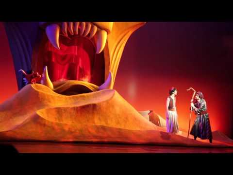 DISNEY'S ALADDIN: A MUSICAL SPECTACULAR - FULL SHOW - DISNEY CALIFORNIA ADVENTURE, DISNEYLAND RESORT