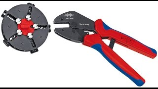 Knipex Multi Crimp Tool in Practice(, 2015-08-20T17:38:47.000Z)