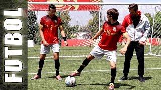 FÚTBOL con ONCE DISNEY (Gabo, Lorenzo & GuidoFTO) - Trucos de Fútbol con Football Tricks Online