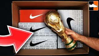 What's In The Box?! Massive Nike World Cup Unboxing!