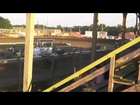 Belle-Clair Speedway Power I Micro Heat Race 3