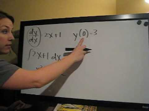 Initial Value Problem (KristaKingMath)
