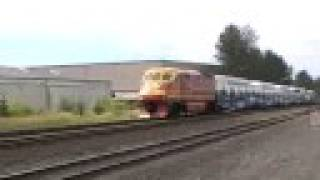 SOUNDER Commuter train #1503 in Kent, WA