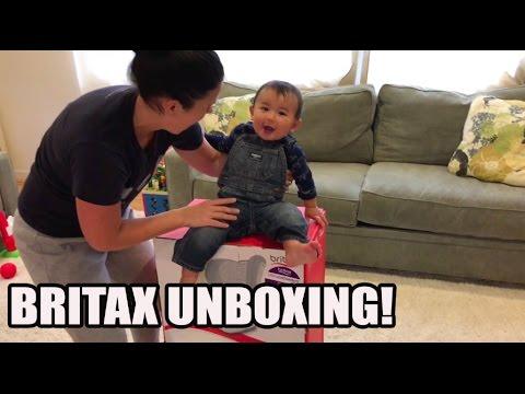 Unboxing: BRITAX Marathon ClickTight Convertible Car Seat (2016 Top Choice)