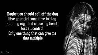 Selena Gomez - Cologne (Lyrics)