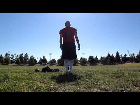 JAMES DURAN(SwCOYOTES) FIELD GOAL KICKING PRACTICE
