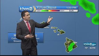 Trade winds to remain steady for next couple days.