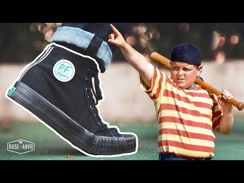 PF Flyers vs Converse - (CUT IN HALF)