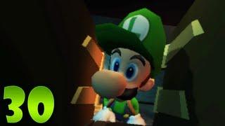 Luigi's Mansion: Dark Moon - Part 30 - Treacherous Mansion: E-3 A Train to Catch