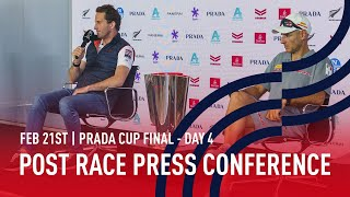 Post Race Press Conference | PRADA Cup FINAL Day 4