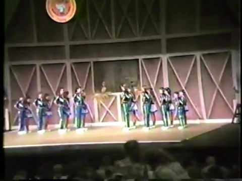 Hee Haw International clogGing competition 1988