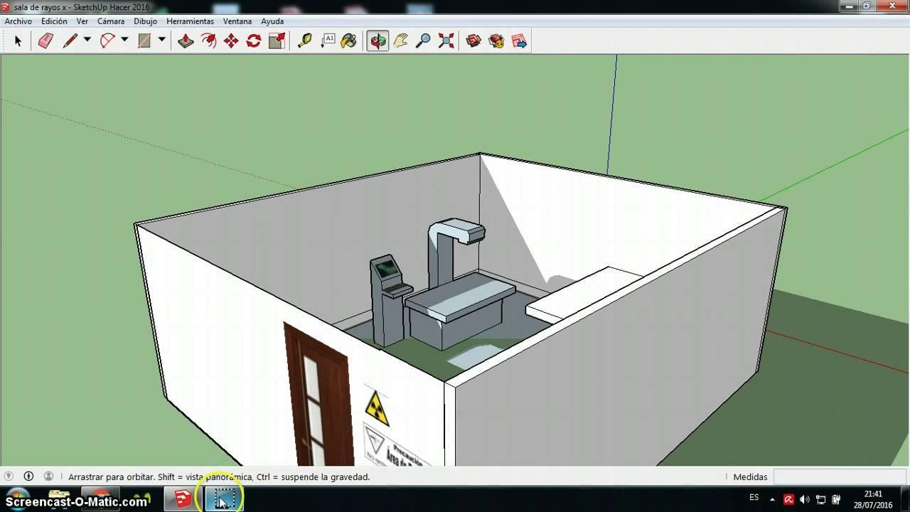 Propuesta sala de rayos x youtube for Cuarto de rayos x medidas