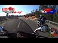 Aprilia RSV4 vs BMW S1000RR  - Smackdown!!!