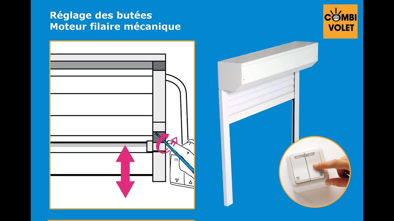 Reglage Des Butees D Un Volet Roulant Filaire Mecanique