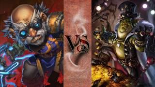 WoW Versus #7 - Gelbin Mekkatorque VS Jastor Gallywix