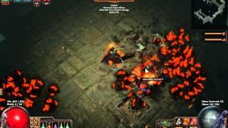 Path Of Exile - Vaal Pyramid Map Boss lvl 68