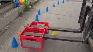BG Forklift Skills Competition 2018 Stage 3