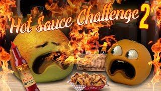 Annoying Orange - Hot Sauce Challenge #2!
