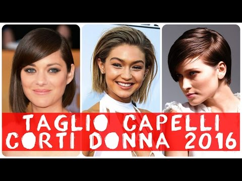 Taglio Capelli Corti Donna 2016