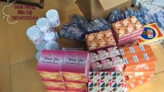 Đóng hàng kem trộn gửi cho khách | kem trộn trắng da