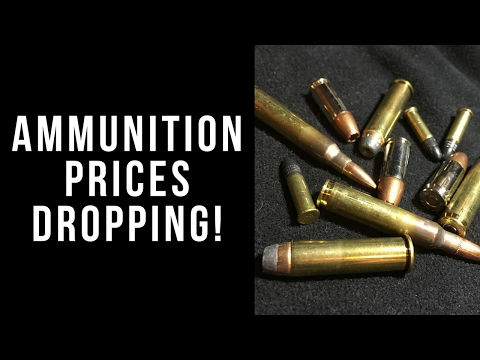 Ammo prices are dropping!!!