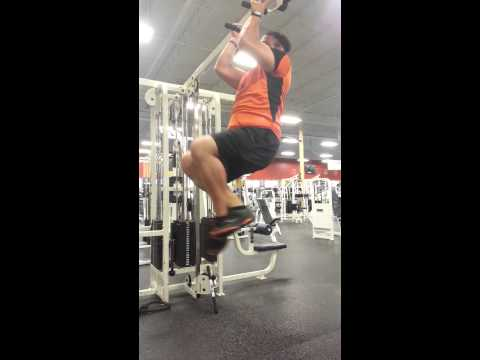 My first pull up ever!