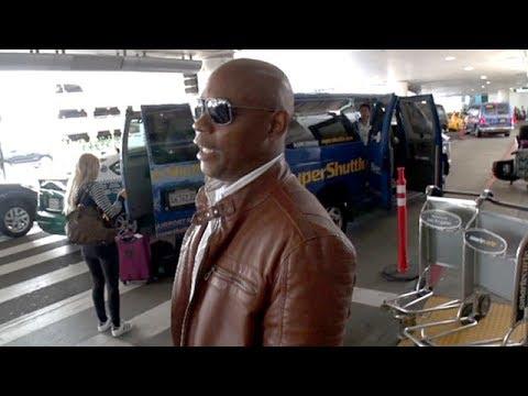 True Detective Star Bokeem Woodbine At LAX