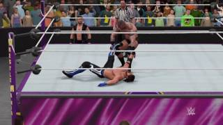 wwe 2k17 randy orton vs aj styles for the wwe champion